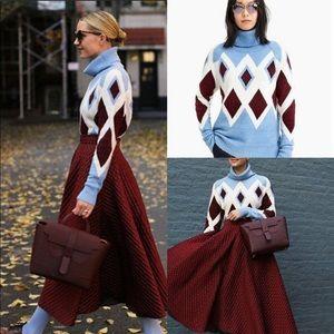 NWT J.CREW Oversized Turtleneck Sweater Small
